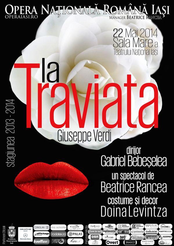 """La Traviata"", spectacol grandios regizat de Beatrice Rancea la Opera Iasi"