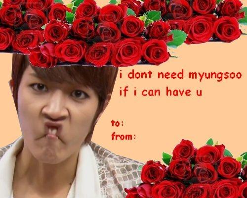 Valentine's day - Yeollie's version kkk  My dearest Owlface ♡♡♡