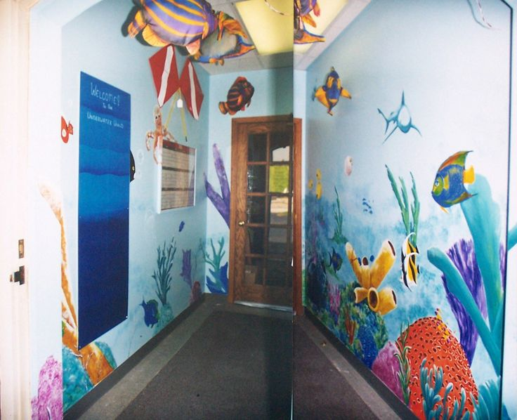 Mural-Reefpoint Dive Shop, Racine, Wi.