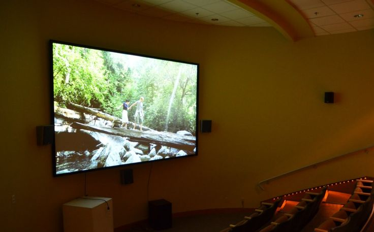 Stop in and watch a #Squamish film in our HD theatre.  You can also rent the space!