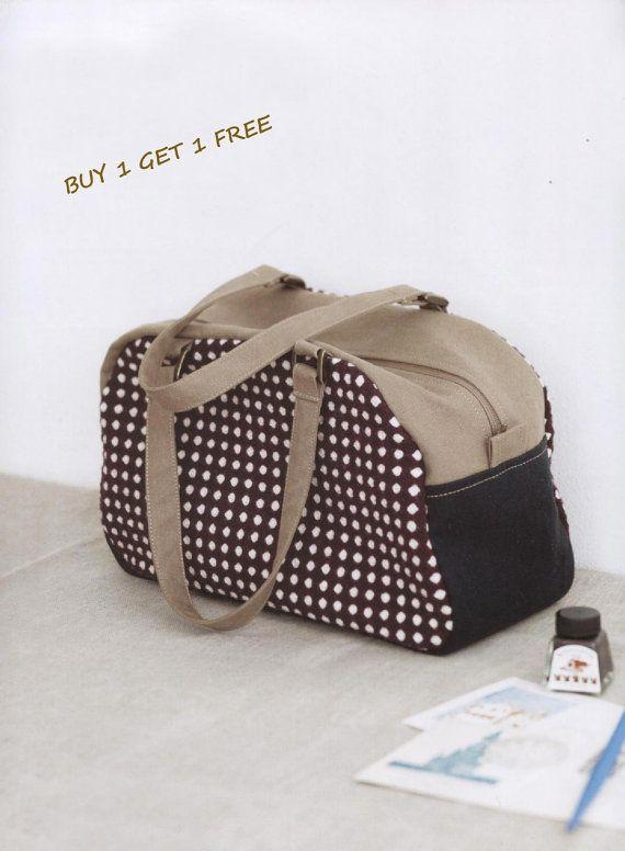 PDF Pattern of Boston Duffle Shoulder handbag by Patternsinlove, $5.00