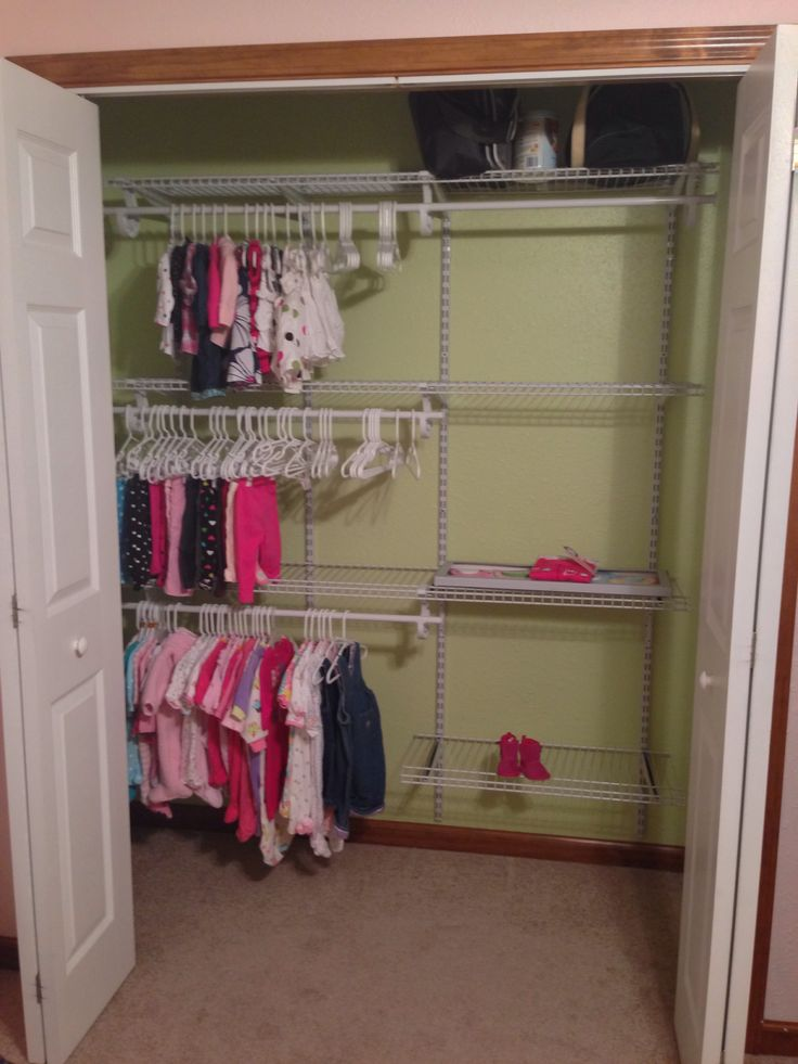 Our baby girl's closet