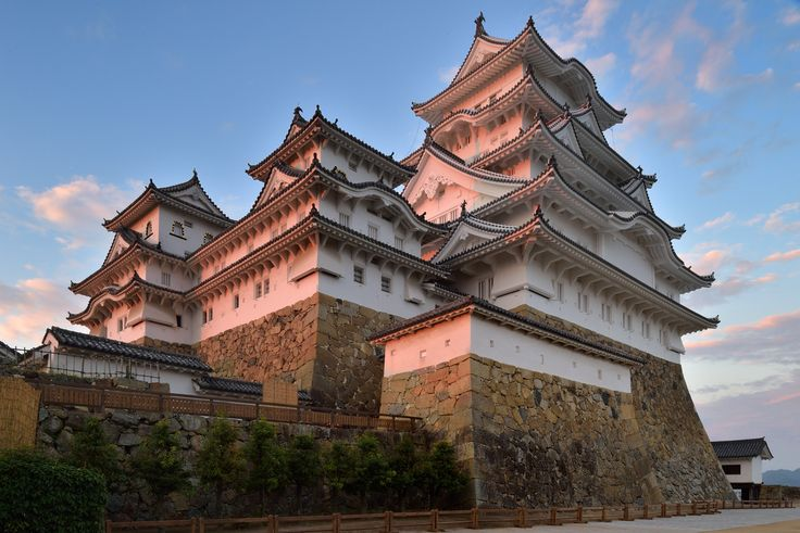 Himeji Castle   夕景の姫路城
