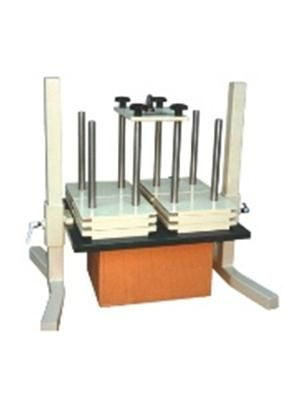 The Dead Weight Compression Tester is designed to perform either as a single test to investigate the effect of deformation, creep, collapse or failure as part of a sequence of tests designed to measure the ability of a package, to withstand a distribution system that includes a compression hazard. The Dead Weight Compression Tester may also be used to investigate performance under particular conditions of loading, as for example, when the bottom package in astack rests on an open-decked…