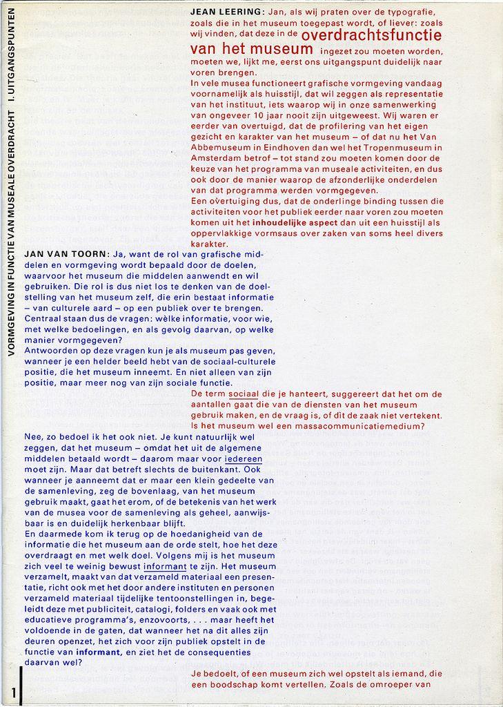 Jan van Toorn_Documentaire no.07, 1978