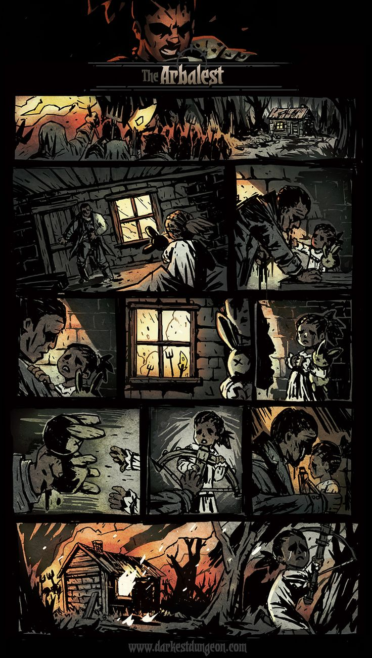 Darkest Dungeon  Comic back stories in collaboration with Red Hook Studios.  Trudi Castle