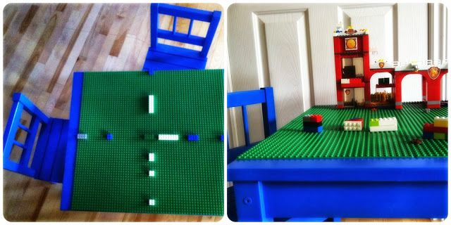 Martha et moi: Table Lego
