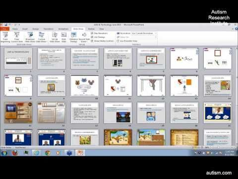 2013 Autism Research Institute Webinar on ASD & Technology