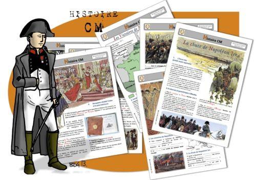 Napoléon Bonaparte : dossier complet à télécharger gratuitement du Consulat à la Sainte Hélène