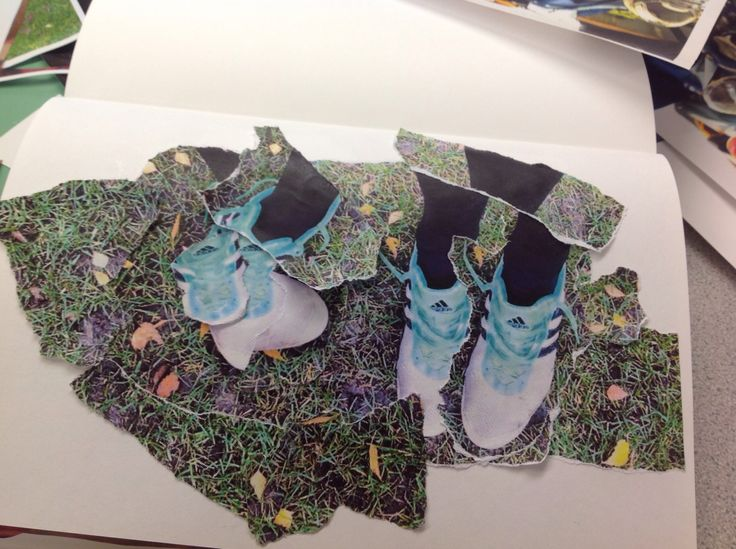 My spikes as a photomontage