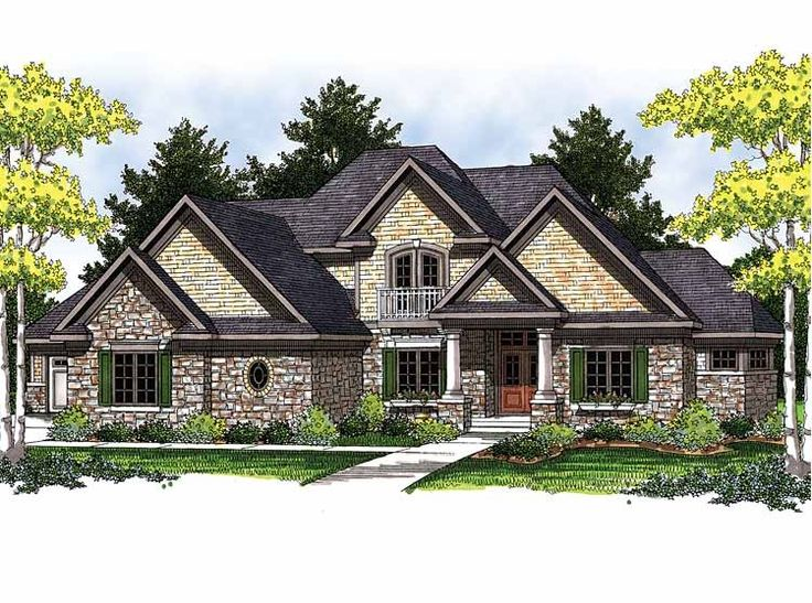 Best House Images On Pinterest Home Plans European House - European homes and house plans
