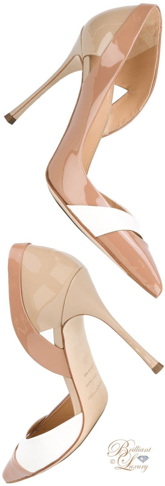 Brilliant Luxury by Emmy DE ♦ Sergio Rossi Slip-On Pumps