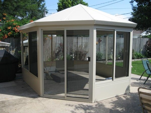 Screened In Patio Addition