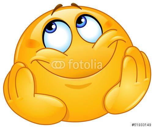"""Descargue el vector libre de derechos """"Dreamy emoticon"""" creado por Yael Weiss al precio más bajo en Fotolia.com. Explore nuestro económico banco de imágenes para encontrar el vector perfecto para sus proyectos de marketing."""