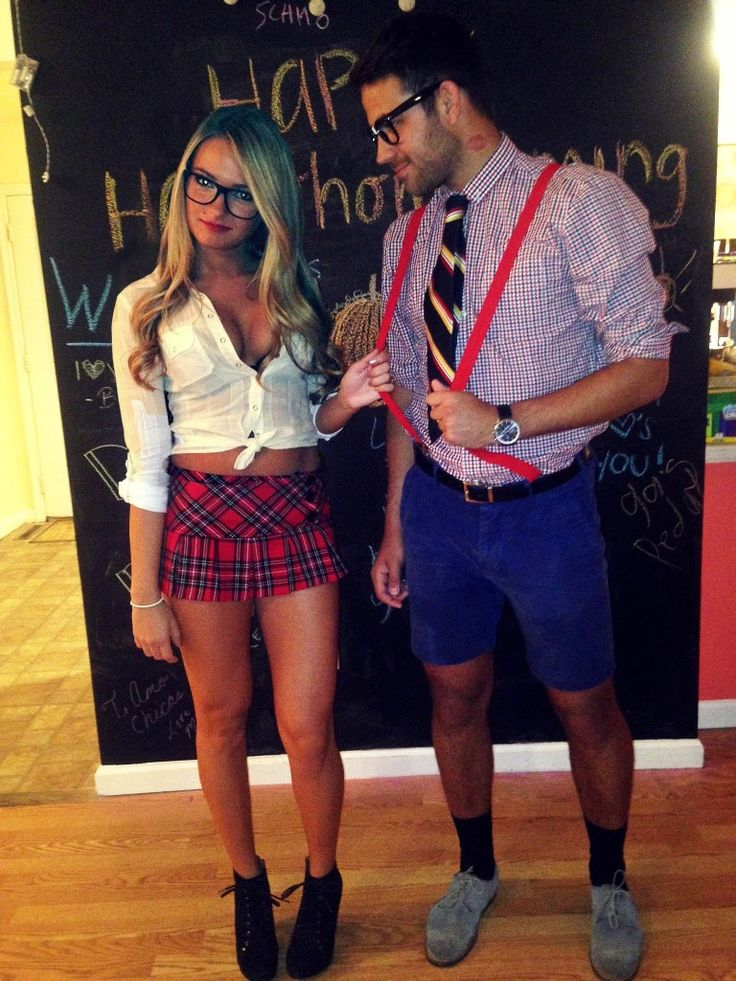 Slutty college halloween costume