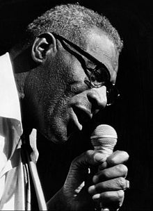 1980 ♦ Howlin' Wolf (1910 - 1976) - African-American Chicago blues singer, guitarist and harmonica player, originally from Mississippi.