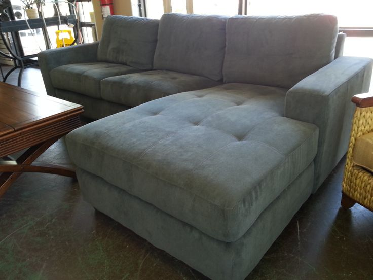 Grey Sectional Sofa With Chaise Lounge # Orlando