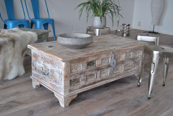 Kista/Soffbord av återvunnet trä - Nice - Våra kollektioner - Myhomemyway.se