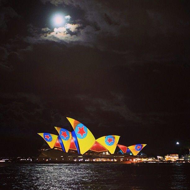 Sydney Opera House, Sydney Vivid festival 2013   by nancyonathan (instagram)