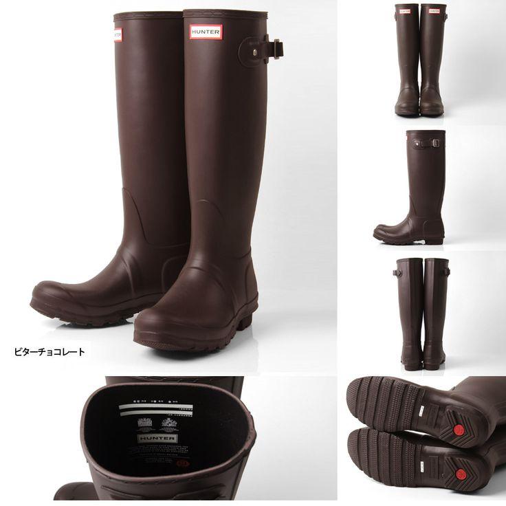 【セール】【送料無料】日本国内正規販売店 正規品メール便対応不可(NG)。【15%OFFセール】【日本正規品】HUNTER ハンター オリジナル トール ラバーブーツ(HWFT1000RMA) WOMENS ORIGINAL TALL レディース レインブーツ 長靴
