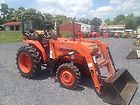 Very Nice Kubota L2350 4x4 Compact Tractor W Loader