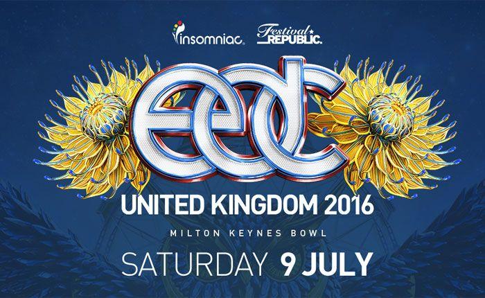 EDC UK 2016 Lineup Announced