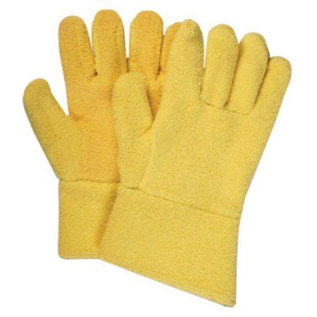 National Safety Apparel Large KevlarTerrybest 22 Ounce Kevlar And Terry Cloth Special Reverse Wool Lined Ambidextrous Heat Resistant Gloves With 12 inch Cuff