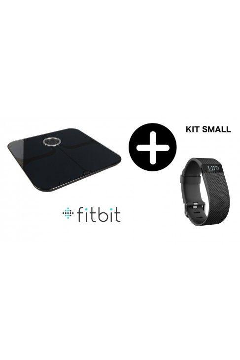 Tracker  Fitbit Charge HR  Small + Balance impédancemètre Aria