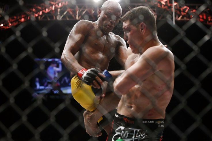 """Anderson Silva calls yet again for the rematch with Nate Diaz.  He stated : """"I believe this was one of the best fights in the history of this sport Silva wrote of the UFC 183 main event. """"With all my respect Nick. Let's show how it's done. I will wait your reply maximum respect to the Diaz family.  Anderson Silva originally won the fight but it was turned into a no contest as both fighters failed drug tests.  MMA fans think the UFC will rebook this fight?  http://ift.tt/2r1Pv4u  #mma news…"""