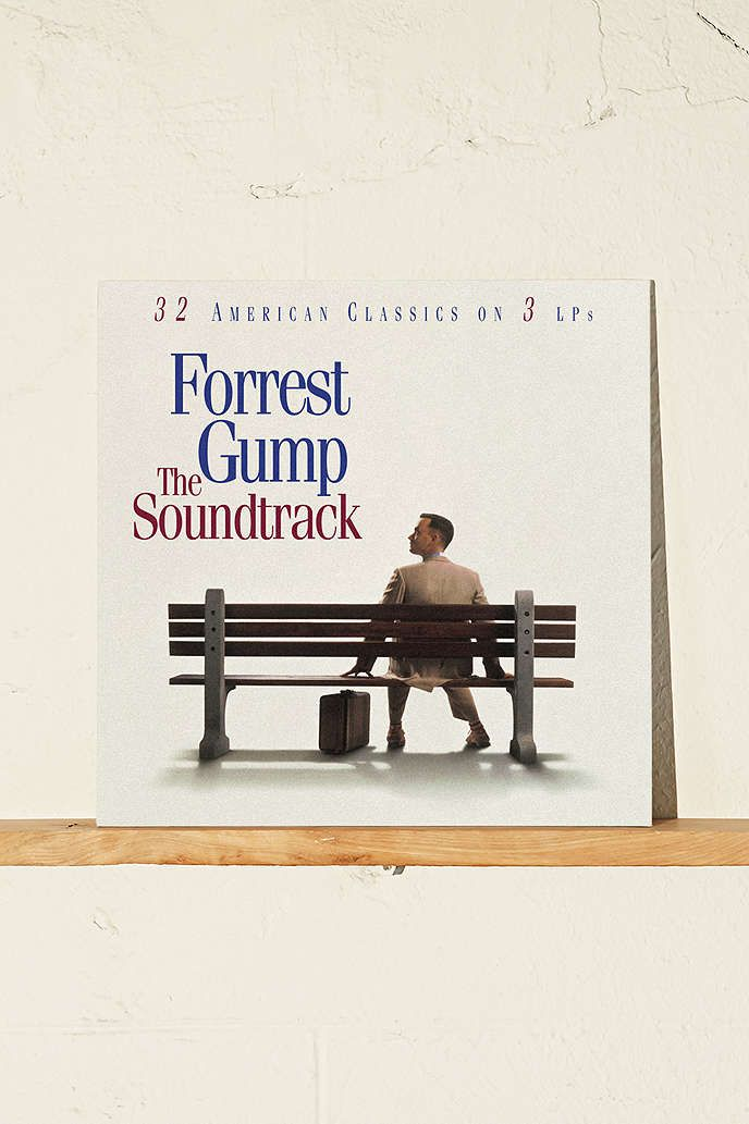 Various Artists - Forrest Gump Soundtrack 2XLP - Urban Outfitters