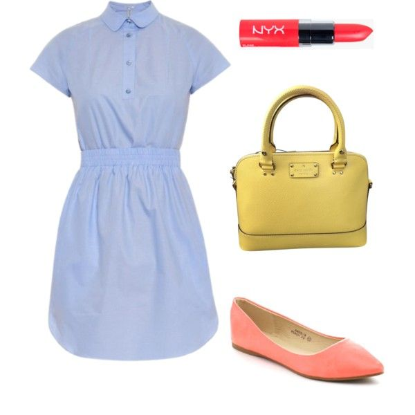 Style Steal: Taylor Swift by scnrousch on Polyvore featuring polyvore fashion style Carven Bella Marie Kate Spade