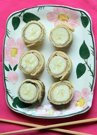 NESRiN`S KÜCHE: Bananen Sushi