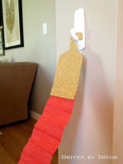 What an easy DIY! This red velvet rope could be made for certain areas of the classroom to enhance the Hollywood theme decor!