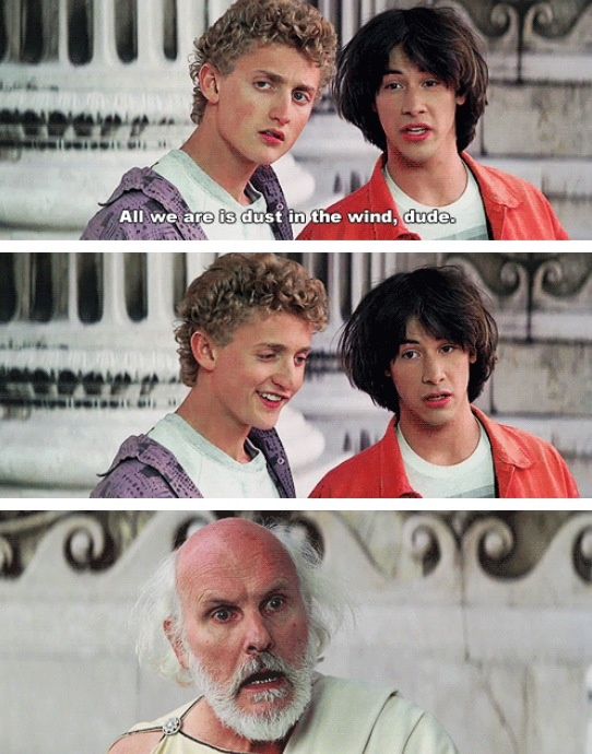 """""""Bill and Ted's Excellent Adventure"""" 1989"""