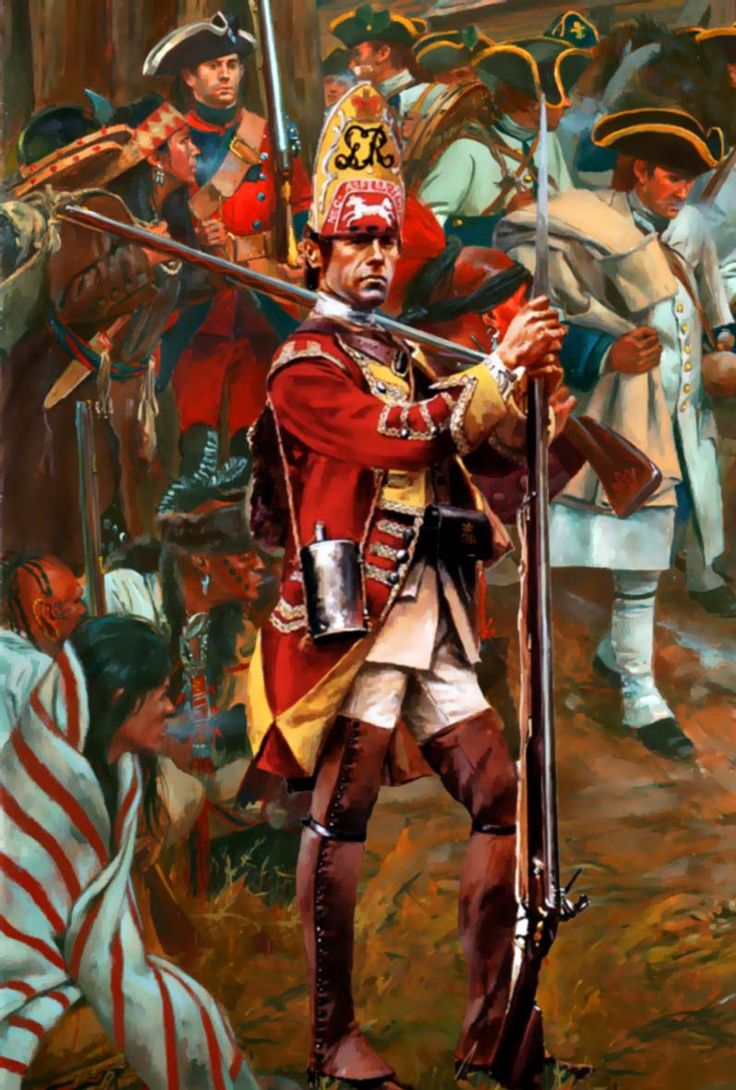 British Grenadier of the 44th Regiment of Foot