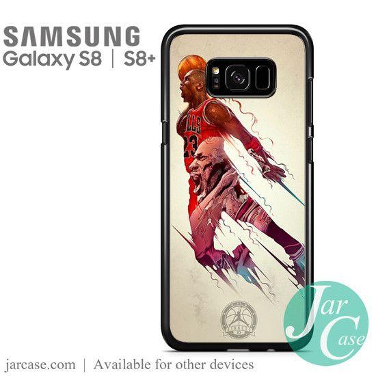Michael Jordan Bulls Phone Case for Samsung Galaxy S8 & S8 Plus