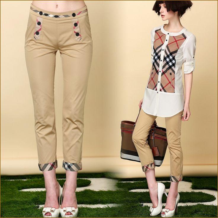 Женщины шаровары и капри весна лето осень приталенный свободного покроя брюки карандаш брюки для женщины хаки, Черный S XL купить на AliExpress