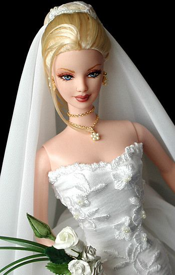 weird girl marries her real doll