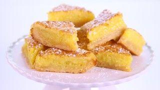 Carla Hall's Triple Lemon Bars Recipe   The Chew - ABC.com