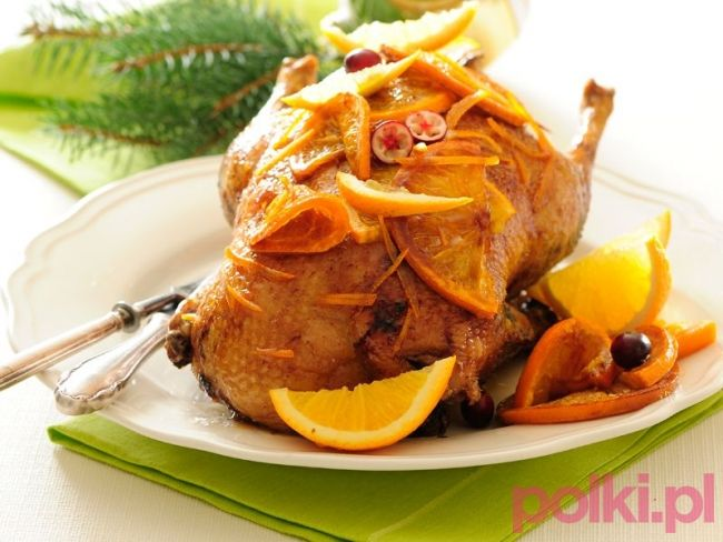 Kaczka w pomarańczach - przepis na #polkipl #dinner #easter #wielkanoc…