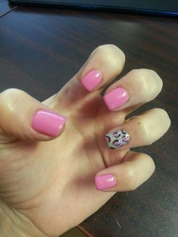 Pink! #leopardprint #silver #pink #girly