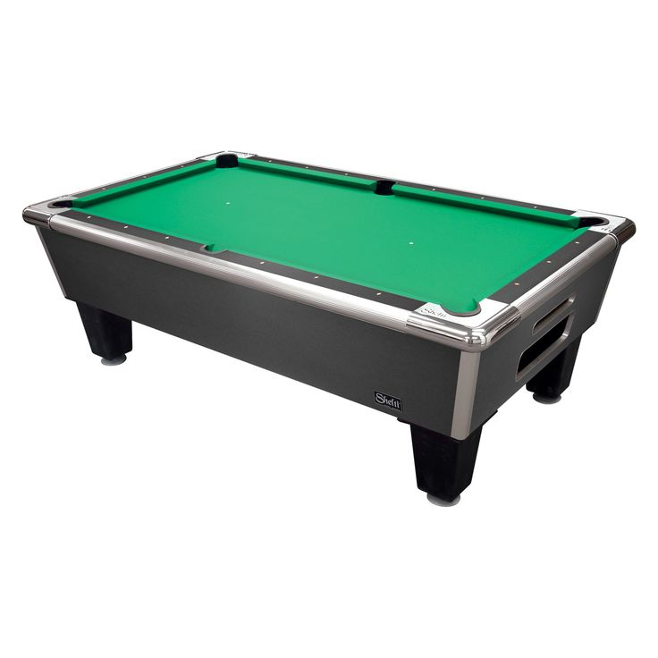 Gold Standard/Shelti Bayside Slate Pool Table   Charcoal