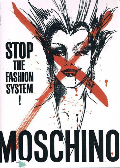 Реклама коллекции «Остановите систему моды»