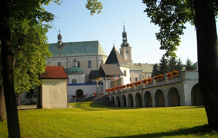 Bernardine monastery complex in Leżajsk, Poland