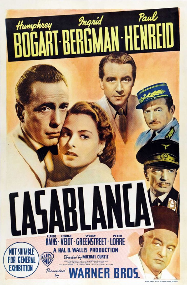 Casablanca Movie 1942: