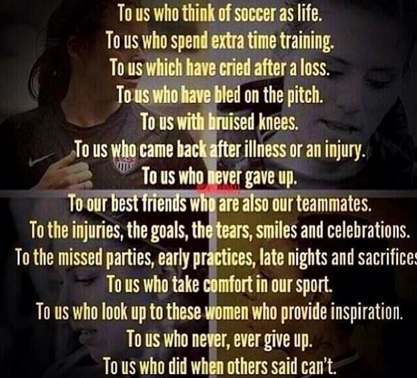 Inspiration soccer quote