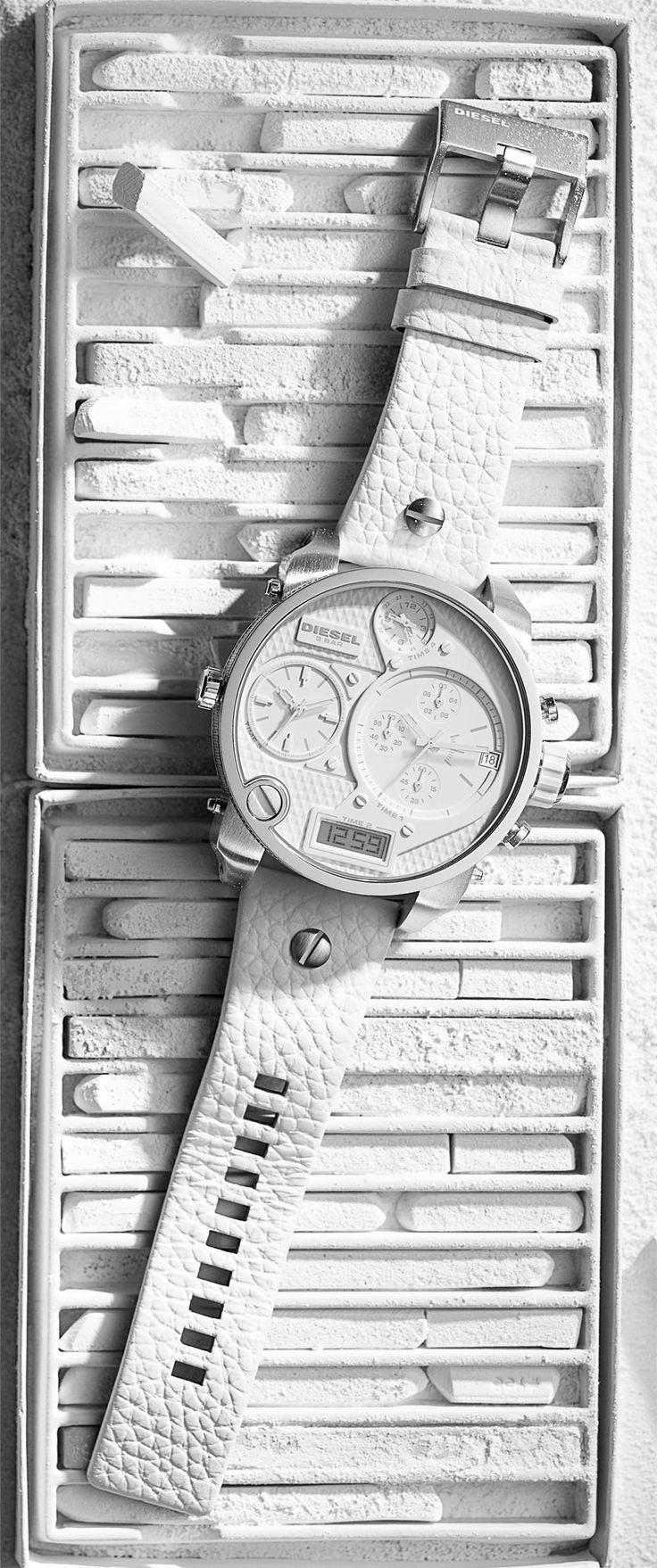 Diesel DZ7194 White SBA Watch - Cool Watches from Watchismo.com