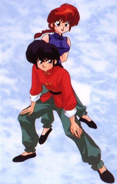 Ranma 1/2. ayan na. another (fictional) boygirl