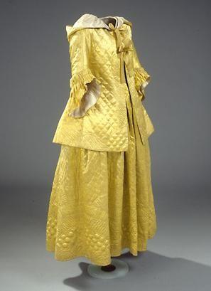 1778 Brunswick and dress. A morning dress.