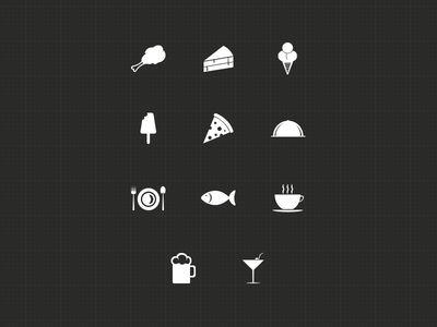 Food Icons - FREE !!!